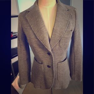 Rag & Bone grey bromley wool blazer